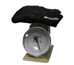 King sweater/garment/sock scale, 32 oz capacity, conversion scale to 24 lbs per dozen