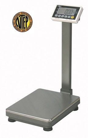 UFM-F Series NTEP Industrial Bench Scale from SummitMeasurement.net