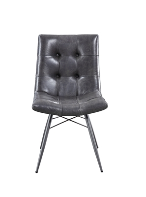Hutchinson Industrial Style Side Chair by Scott Living 107852