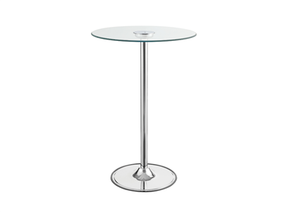 Modern Bar Table with Transitioning LED Lights