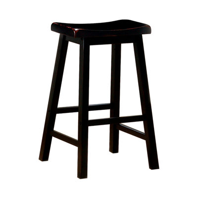 Black Bar Stool - Coaster 180029