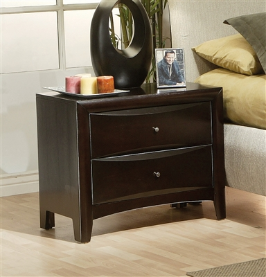 Phoenix Collection Nightstand 200412