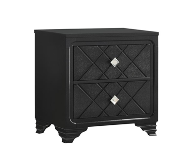 Penelope Contemporary Glam Nightstand - Coaster 223572