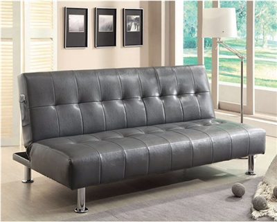 Leatherette Futon by Furniture Of America CM2669