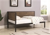 Rustic Industrial Twin Daybed