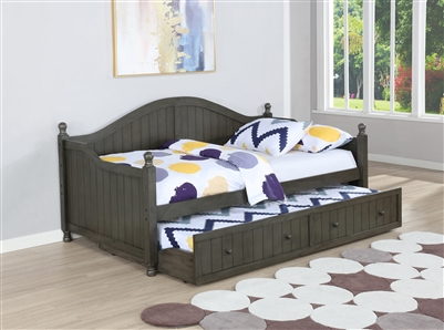 Flor Cottage Style Twin Daybed w/ Trundle