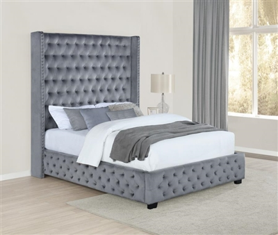 Rocori Upholstered Queen Bed - Coaster 306075Q