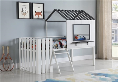 Timber Twin Loft Bed - Coaster 409464T