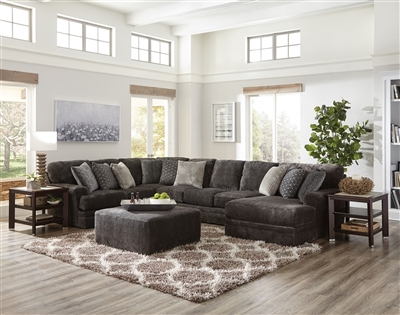 4376 Mammoth Smoke Sectional - Jackson Catnapper