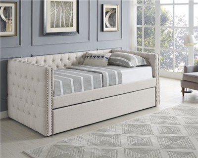 5335 Trina Cream Twin Daybed & Trundle - Crown Mark