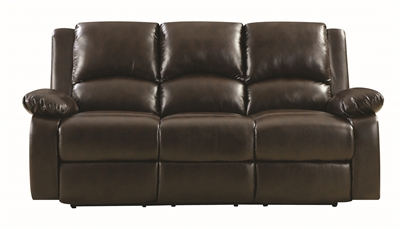 Leather Motion Sofa and Loveseat Set