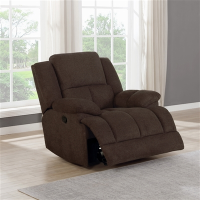 Waterbury Motion Recliner in Brown