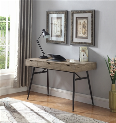 Single Drawer Writing Desk with Lift Storage