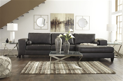 The Nokomis Sectional by Ashley