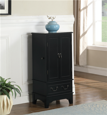 Doreatha Traditional Flip-Top Jewelry Armoire