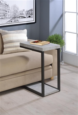 Expandable Top Accent Table Chestnut & Chrome - Coaster 902933