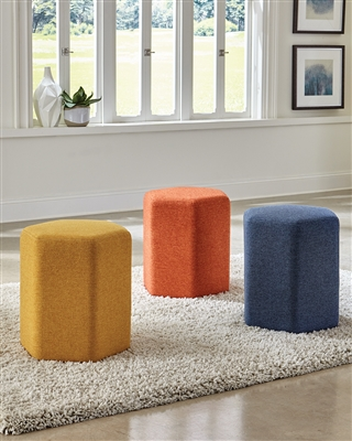 Hexagon Shape Ottoman