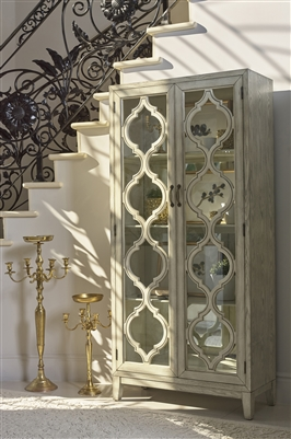 Vintage Style Tall Cabinet - Coaster 953375