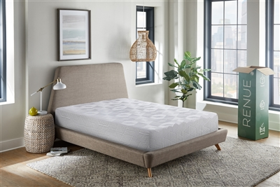 "RENUE Copper Infused 8"" Medium Firm Memory Foam Mattress"