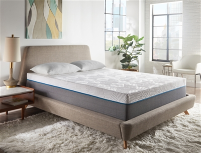 "RENUE Copper Infused 12"" Medium Firm Memory Foam Mattress"