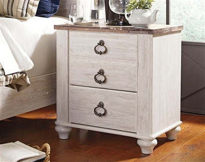 B267 Willowton White Farmhouse Collection - Signature Design by Ashley