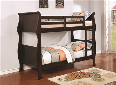 Ward Traditional Twin/Twin Bunk Bed