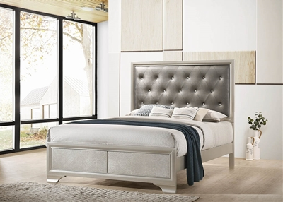Selene Contemporary King Bed