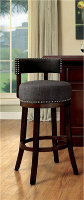 Contemporary Bar Stool by Furniture of America CM-BR6252
