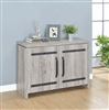 Rustic Grey Accent Cabinet by Coaster 950785