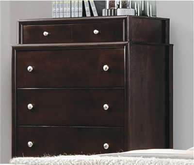Maddy Collection Chest w/ Tiered Stacking Drawers