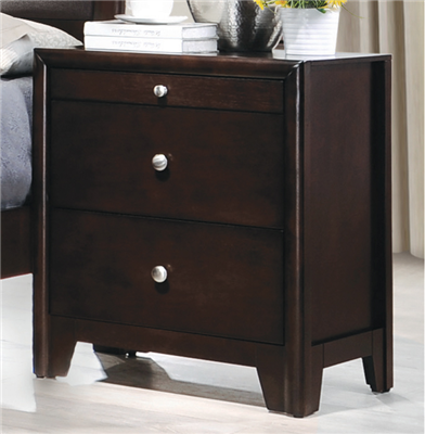 Maddy Collection Nightstand w/ Pull Out Writing Tray