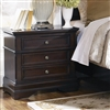 Carlsbad 3-Drawer Cappuccino Finish Nightstand