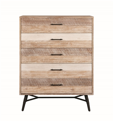 Vilma Rough Sawn Varied Natural Finish Chest