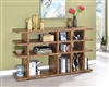 Gruffolo Modern Rustic Bookcase in Antique Nutmeg
