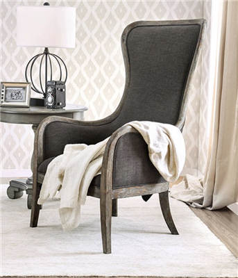 Charlottestown Accent Chair in Gorgeous Weathered Gray