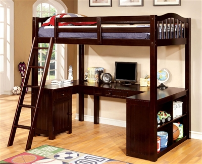 Dutton Ultimate Twin Workstation Loft Bed