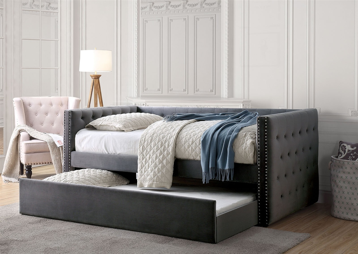 - Susanna Modern Daybed With Trundle