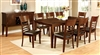Hillsview 7 Piece Dark Cherry Finish Dining Set