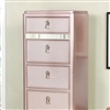 Avior Chest CM7170  in Rose Gold Dresser by Furniture of America