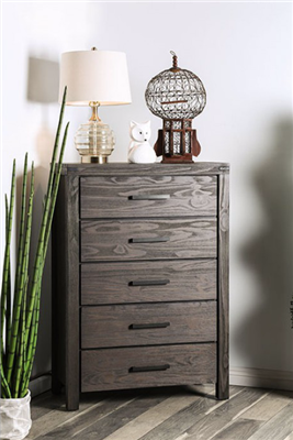 Rustic Brown Finish Chest