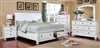 Castor Rustic Contemporary Queen Storage Bed