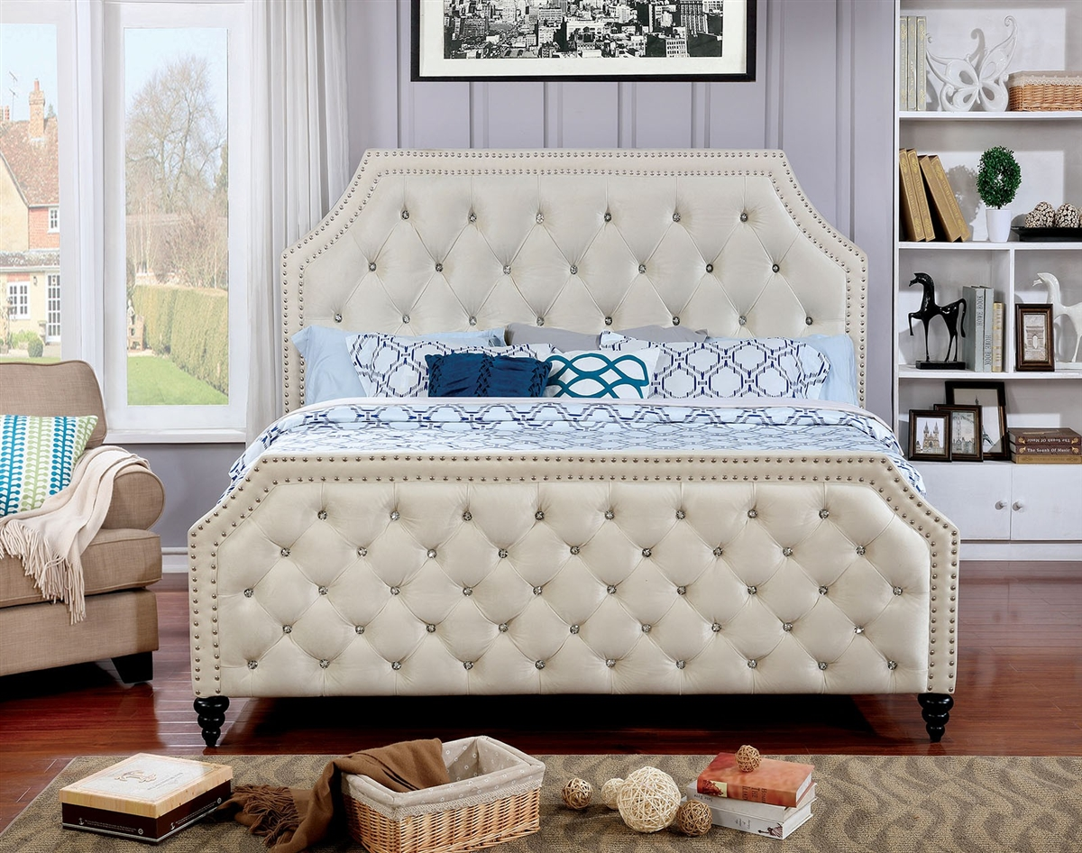 Claudine Upholstered Bed