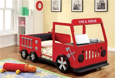Fire & Rescue Twin Bed