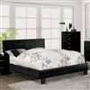 Wallen Contemporary Faux Crocodile Upholstered Bed CM7793