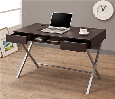 Lift Top Desk With Power Outlet