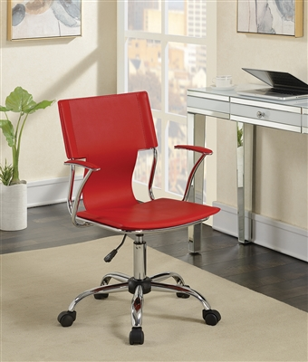 Modern   & Chrome Office Chair