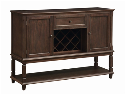 Alba Collection Rustic Espresso Finish Server