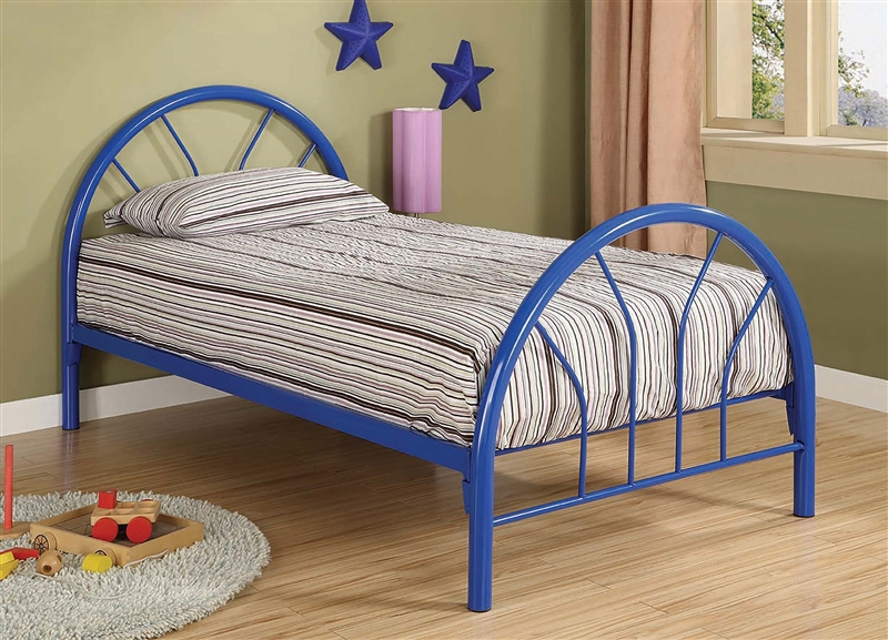 Metal Youth Bed Available in 3 Colors