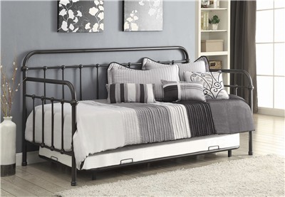 Twin Metal Daybed by Coaster 300398