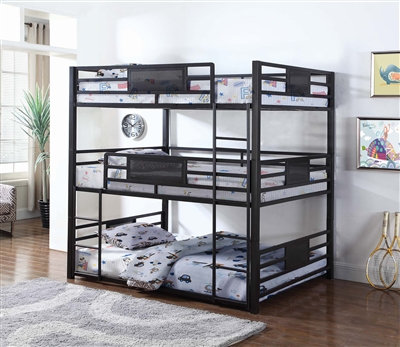 Lexie Triple Stack Full Bunk Bed